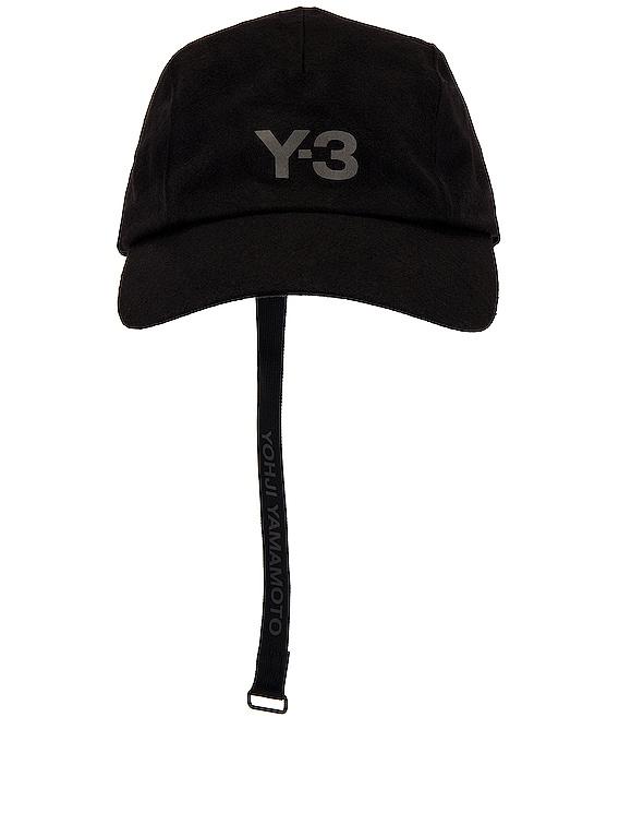 Y-3 CH1 Wool Cap in Black