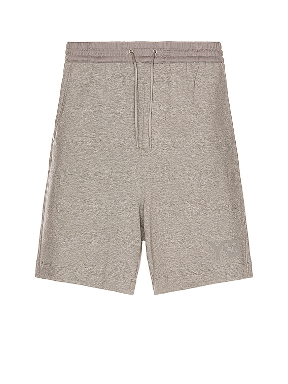 Terry Shorts in Medium Grey Heather