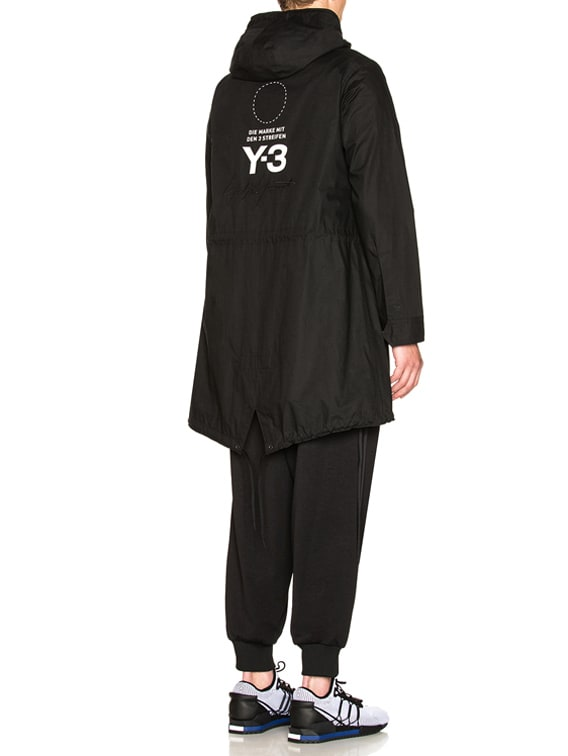 Mod Parka Shirt in Black