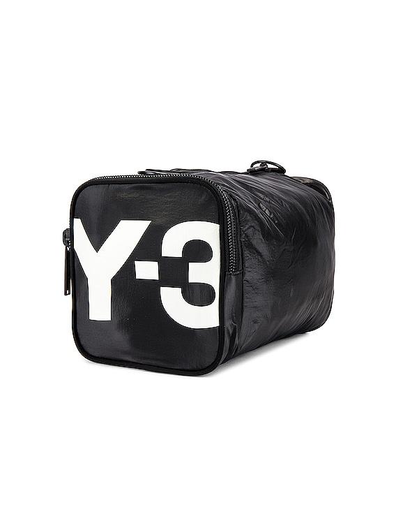 Mini Gymbag in Black & Core White