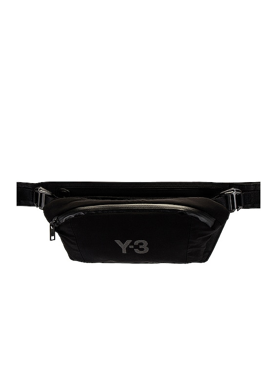 Y-3 CH1 Reflective Belt Bag in Night Grey