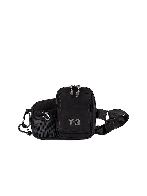 Y-3 CH3 Cord Bumbag in Black