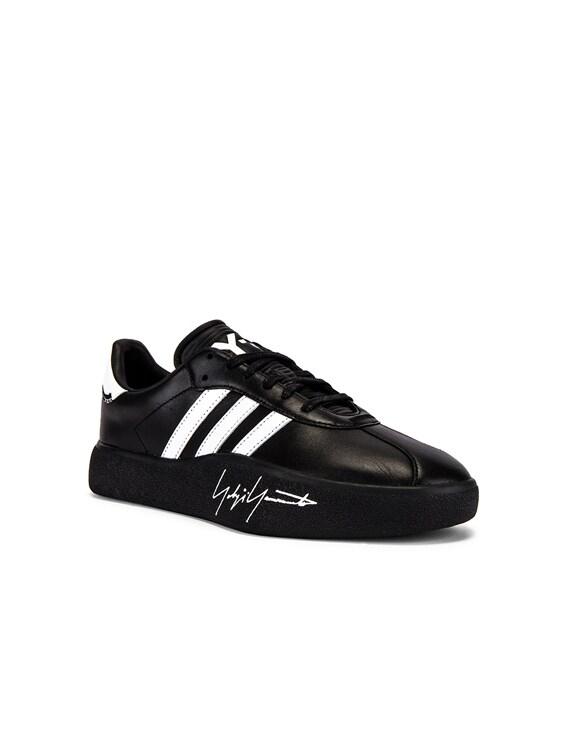 Tangutsu Football in Black Y3 & White & Black Y3