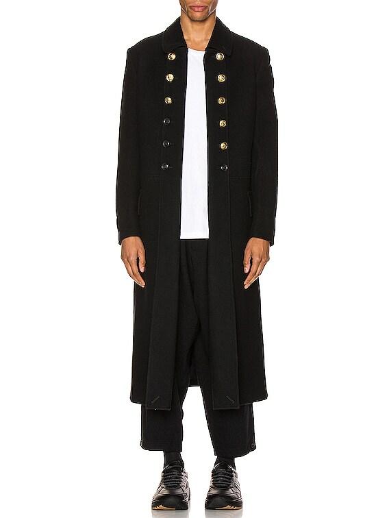 Napolean Long Jacket in Black