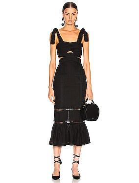 A Foreign Affair Midi Dress
