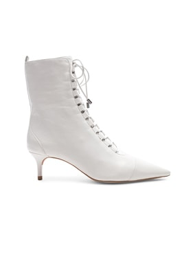 Leather Millen Lace Up Ankle Boots