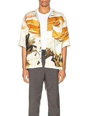 Simon Fluid Horse Shirt