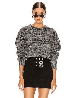 Rib Crewneck Sweater