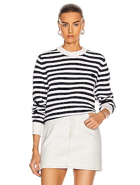 Kalon Stripe Face Sweater
