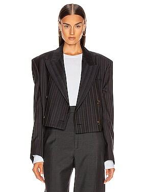 Josie Pinstripe Suit Jacket