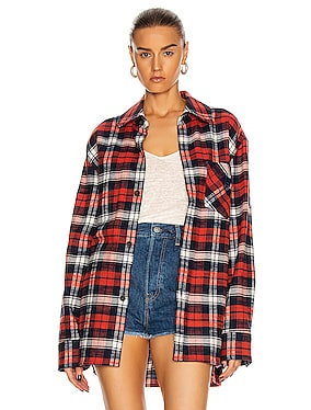 Salak Flannel Face Shirt