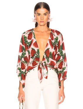 Fiore Shirt With Voluminous Sleeves