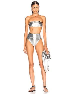 Bandeau & High Leg Bikini