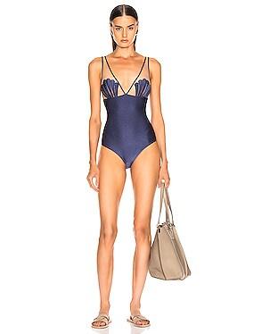 Marine Seashell Swimsuit