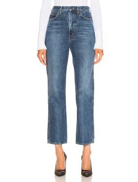 Pinch Waist Jean
