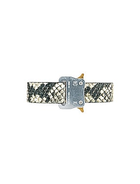 Medium Rollercoaster Leather Belt