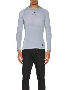 Nike Long Sleeve Dye Tee
