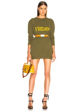 Friday Crewneck Sweater Dress