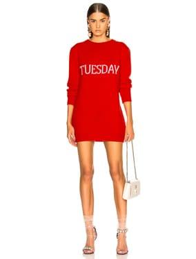 Tuesday Crewneck Sweater Dress