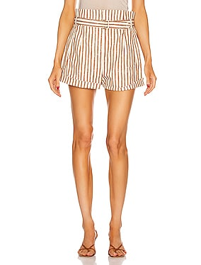 Tailored Stripe Short