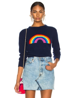Rainbow Crewneck Sweater