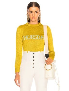 Thursday Lurex Crewneck Sweater
