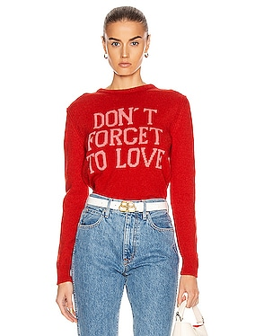 Don't Forget To Love Sweater