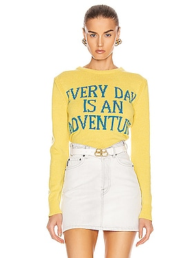 Everyday Is An Adventure Sweater