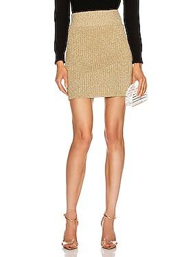 Shiny Mini Skirt