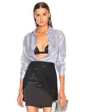 Metallic Silk Shirt