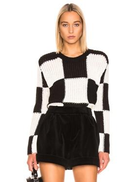 Checkerboard Sweater