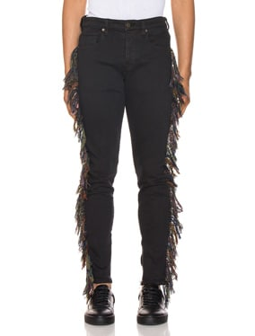 x Guess Fringe Jeans