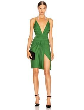 Stretch Jersey Mini Dress