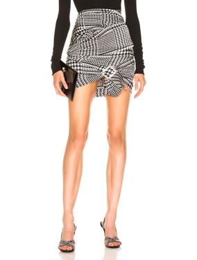 Stretch Satin Skirt