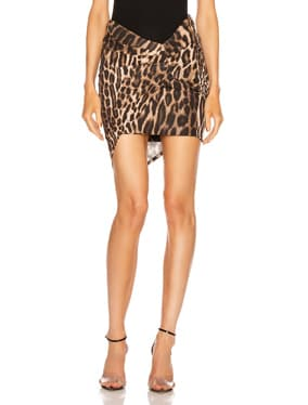 for FWRD Ruched Mini Skirt