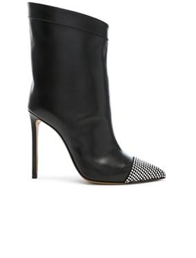 Leather Cha Cha Booties