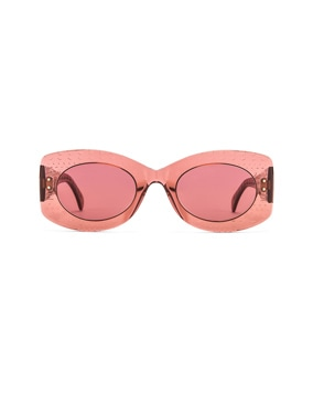 Soft Round Stud Sunglasses