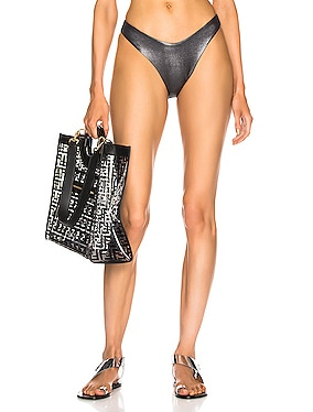 Espanola Metallic Bikini Bottom