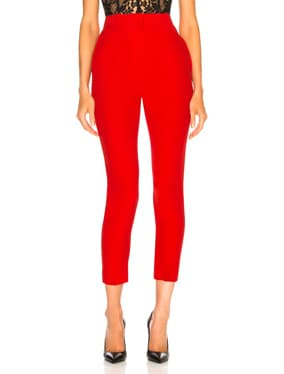 High Waisted Cigarette Trousers