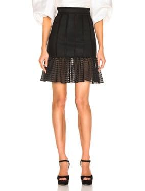Mini Flute Skirt