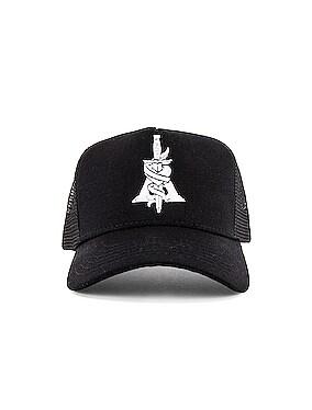 A Dagger Cotton Trucker Hat