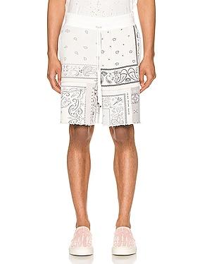Bandana Reconstructed Shorts