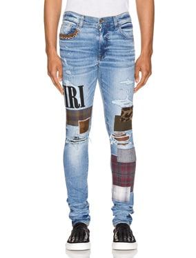 Grunge Patch Jean