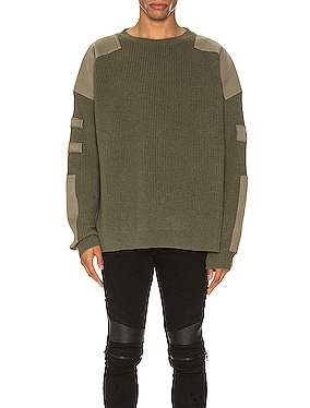 Military Patch Knit