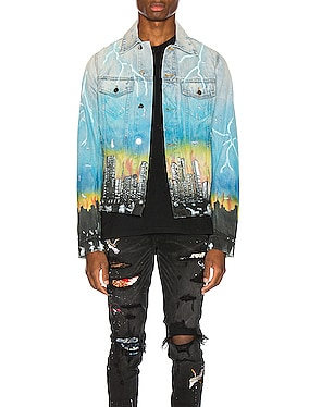 City Dragon Trucker Jacket