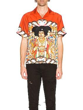 Jimi Hendrix Short Sleeve Shirt