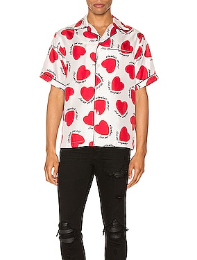 Hearts Pajama Shirt