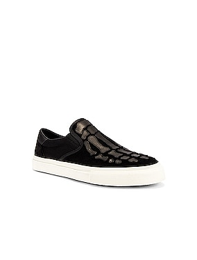 Skeleton Slip On Sneaker
