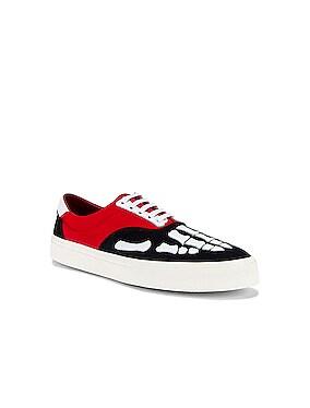 Skel Toe Lace Up Sneaker