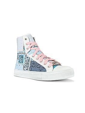 Bandana Patchwork Sunset Sneaker